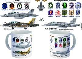 F/A-18 Marine Fighter Attack Squadrons