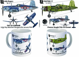 F4U Corsair VF-17 Jolly Rogers Mug