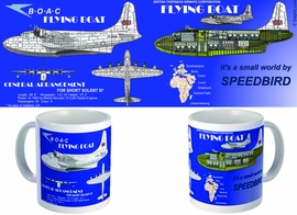 BOAC Flying Boat Mug