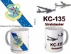 KC-135 B-52 with SAC Milky Way Emblem Mug