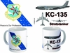 KC-135 with SAC Miky Way Emblem Mug