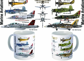 Marine Aviation Mug