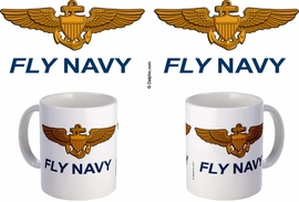 Naval Aviator Wings Mug