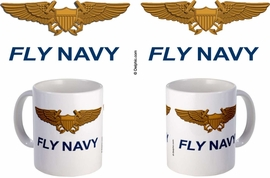 Naval Flight Officer Wings Mug