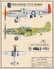 P-51D Mustang Giclee Print