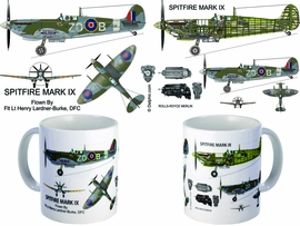 Spitfire Mark IX Coffee Mug