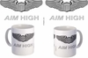 US Air Force Pilot Wings Aim High Mug