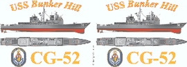 USS Bunker Hill (CG-52) Coffee Mug