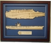 USS Eisenhower CVN-69 Wood Model
