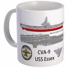 USS Essex CV-9 CVA-9 Coffee Mug
