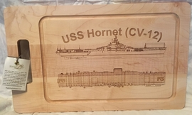USS Lexington (CV-16) Cutting Board