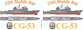 USS Mobile Bay (CG-53) Coffee Mug