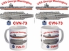 USS Washington CVN-73 Coffee Mug