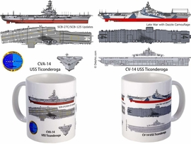 USS Wasp CV-18 CVA-18 Coffee Mug