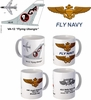 "VA-12 ""Flying Ubangis"" A-7 Corsair II Mug"