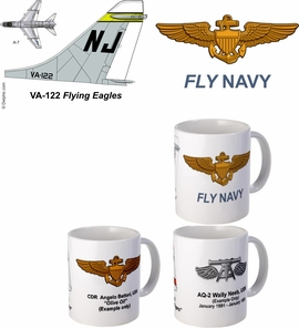 "VA-122 ""Flying Eagles"" A-7 Corsair II Mug"