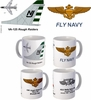 "VA-125 ""Rough Raiders"" A-7 Corsair II Mug"