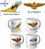 "VA-192 ""Golden Dragons"" A-7 Corsair II Mug"