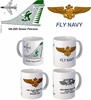 "VA-205 ""Green Falcons"" A-7 Corsair II Mug"