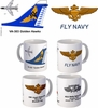"VA-303 ""Golden Hawks"" A-7 Corsair II Mug"