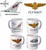 "VAQ-34 ""Flash Backs"" A-7 Corsair II Mug"