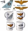 "VF-102 ""Diamond Backs"" F-14 Tomcat Mug"