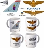 "VF-11 ""Red Rippers"" F-14 Tomcat Mug"