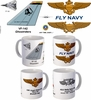 "VF-142 ""Ghostriders"" F-14 Tomcat Mug"