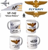 "VF-142 ""Ghostriders"" F-4 Phantom II Mug"
