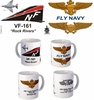 "VF-161 ""Rock Rivers"" F-4 Phantom II Mug"