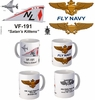 "VF-191 ""Satans Kittetns"" F-4 Phantom Mug"