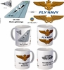 "VF-194 ""Red Lightnings"" F-14 Tomcat Mug"