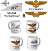 "VF-194 ""Red Lightnings"" F-4 Phantom II Mug"