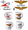 "VF-201 ""Hunters"" F-4 Phantom II Mug"