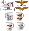 "VF-202 ""Superheats"" F-4 Phantom II Mug"