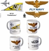 "VF-21 ""Freelancers""  F-4 Phantom II Mug"