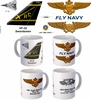 "VF-32 ""Fighting Swordsmen"" F-14 Tomcat Mug"