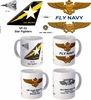 "VF-33 ""Star Fighters"" F-14 Tomcat Mug"