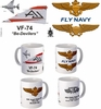 "VF-74 ""Be-Devilers"" F-4 Phantom II Mug"
