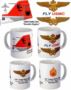 "VMAT(AW)-202 ""Double Eagles"" A-6 Intruder Mug"