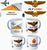 "VMFA-312 ""Checkerboards"" F-4 Phantom II Mug"
