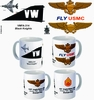 "VMFA-314 ""Black Knights"" F-4 Phantom II Mug"