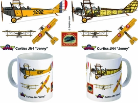 WAAAM JN-4 JENNY (ARMY) COFFEE MUG