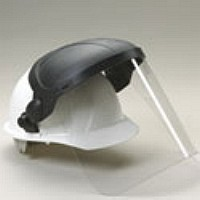 15100 E11S ATTACHMENT WITH POLYCARBONATE SHIELD FOR HARD HAT