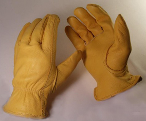 1541B  UNLINED GRAIN DEERSKIN DRIVERS STYLE GLOVES