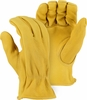 1547 ELKSKIN PREMIUM A-GRADE <u>HEAVYWEIGHT</u> GRAIN LEATHER UNLINED DRIVERS GLOVES