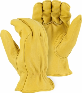 1565 ELKSKIN DELUXE A-GRADE GRAIN LEATHER UNLINED DRIVERS GLOVES