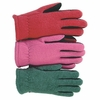 1666 YOUTH HEATLOK&#174 LINED SPLIT DEERSKIN PALM FLEECE GLOVES
