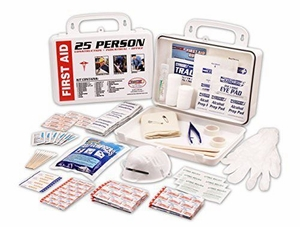 17134  FIRST AID KIT FOR 25 PEOPLE IN A METAL CASE