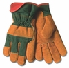 1721GR SoftTouch&#153 HEAVY FLEECE LINED SPLIT COWHIDE WINTER WORK GLOVES